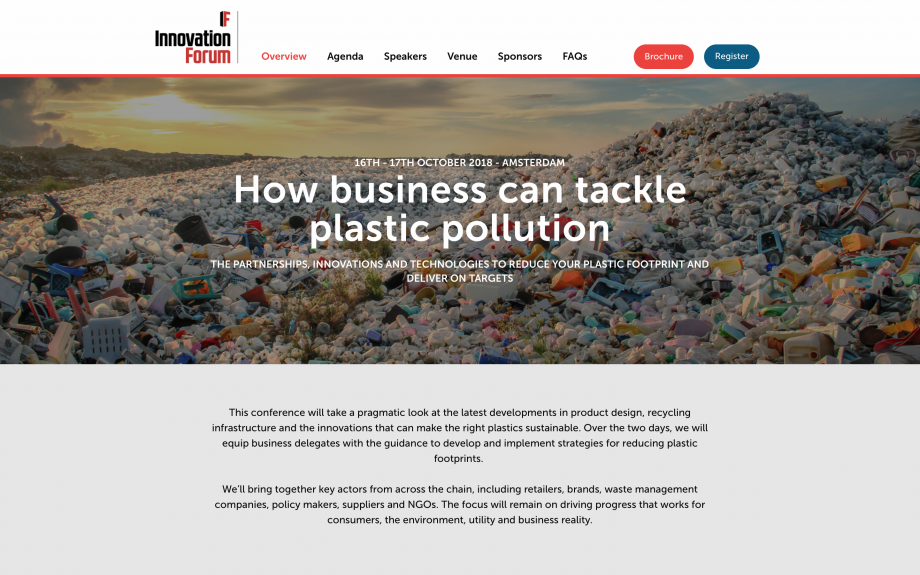 The ten most important issues in…business and plastic pollution
